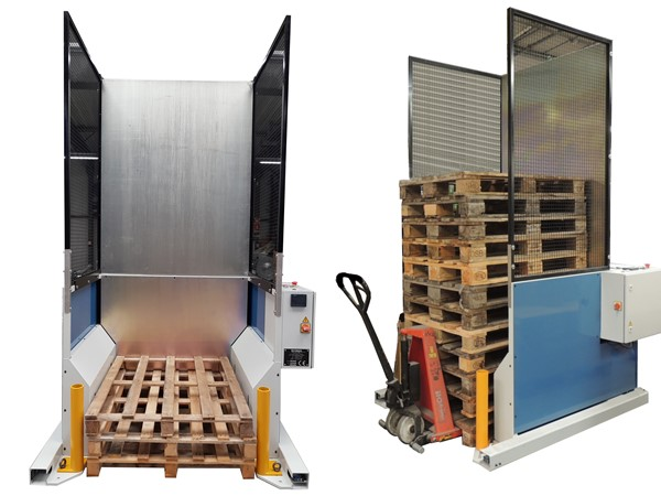 PALLET STACKER AND DISPENSER 1000x1200